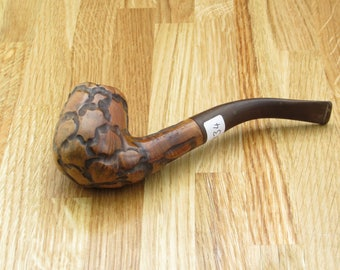 Peter Piper Bent Smoking Pipe, Tobacco Pipe, Vintage Pipe, Tobacciana, Gifts For Him, Smoking Accessories