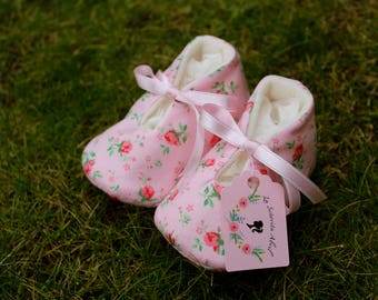 Baby Shoes Mini Roses-various sizes
