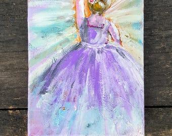"Original Miniature Painting ""Shine"""
