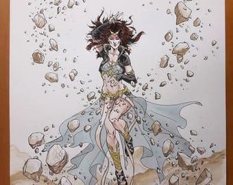 Goddess of Infinity Stones - Original