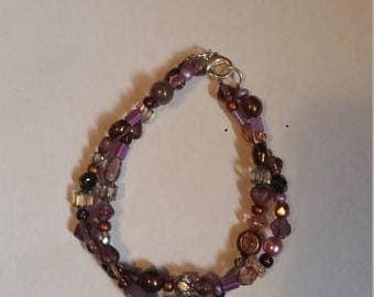 Violet Twist Bracelet