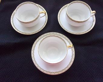 Beautiful vintage china produced by Haviland