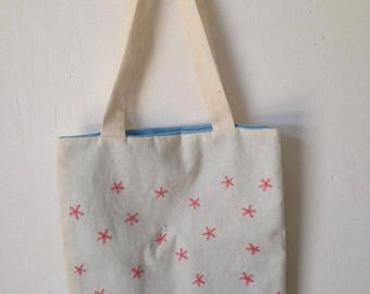 Fabric bag embroidered hand/bag tote for shopping/tote bag with cats/bag embroidered/embroidery/embroidery/hoop embroidery/bag with cats
