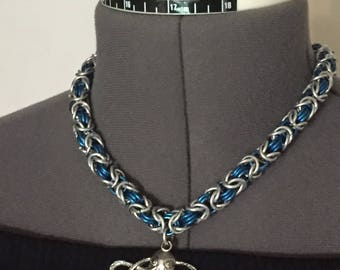 Chainmail jewelry set