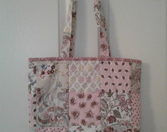 9 patch quilted tote bags