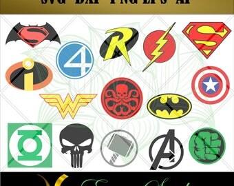 Super Hero svg, Avengers svg fantastic svg,Studio files for cricut,svg files,Cricut Downloads,Instant Download