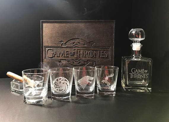 Game of Thrones Gift Whiskey Decanter Set