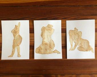 Nude Triptych
