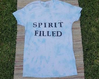 Spirit Filled Blue Tye Dye
