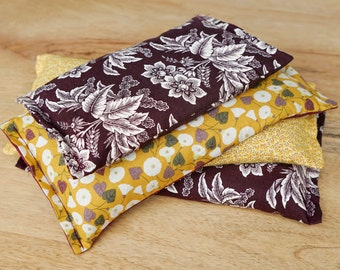 Aromatherapy Bag // Flax Seed Hot Pack // Large Heating Pad // Neck Warmer // Cramps