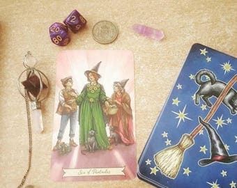 Tarot reading 1 card or Numerology say reading cleromancy / 1 card reading consultation given reading or Tarot numerological