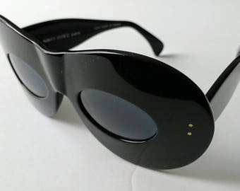 Vintage Alain Mikli 5104 101 zoro mask sunglasses (ultra rare showpiece)