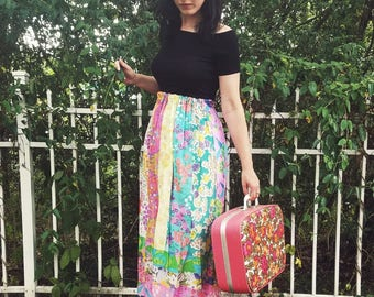 Psychedelic Maxi Skirt