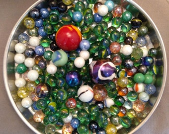 200 Vintage, Antique? Marbles, 7 Shooters