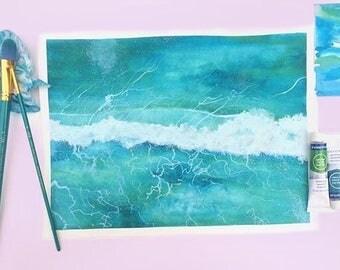 First Ocean Wave