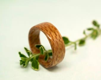 English Planetree Bentwood Ring