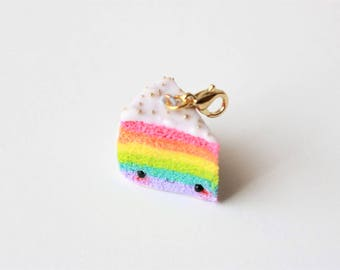 Charm - Piece multicolor kawaii cake