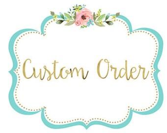 Custom Cookie Order