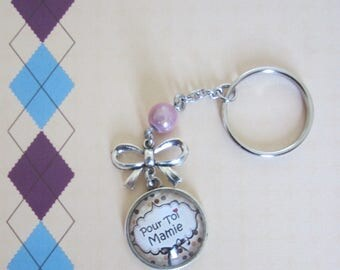 "Gift for Grandma: key ""for you Grandma"""