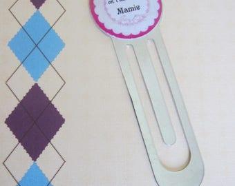 "Grandmas day - Gift for Grandma: bookmark ""Love strong Grandma"""