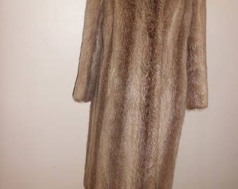 PELZ GUSIK BERLIN T40 vintage fur long coat