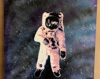 Astronaut on Canvas 20x20