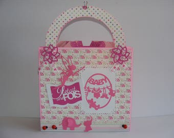 Pink bag photo album once upon a time