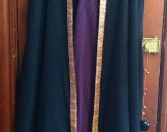 Wool & Fleece Winter Ritual Cloak