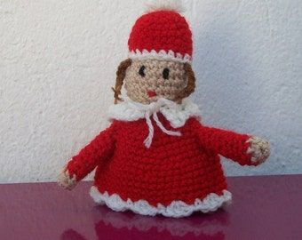 character wool Christmas decoration