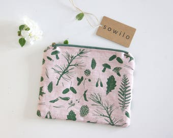 Bag with a forest print