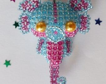 Seahorse, bag charm keychain