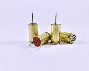 Push pins for picture Cork casings 9mm