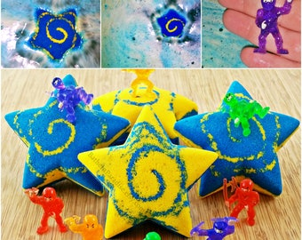 Ninja Star Surprise Toy Bath Bomb NEW! | Fun Childrens Bath | Kids Surprise Toy | Bath Bomb Hatch