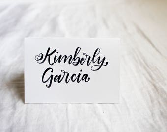 Placement Name Cards || Calligraphy || Wedding