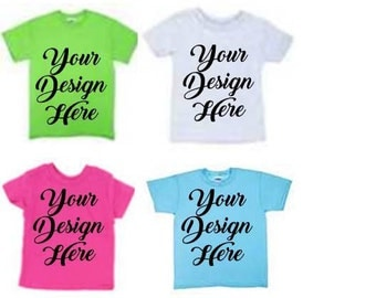 Custom Design Youth Shirts,Glitter Shirts,Youth Tees,Kids Tee Shirts,Kids Birthday,Kids sport teams,Funny Shirts for kids,Matching shirts