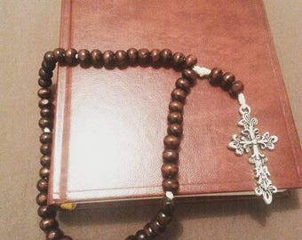 Traditional wooden Rosary