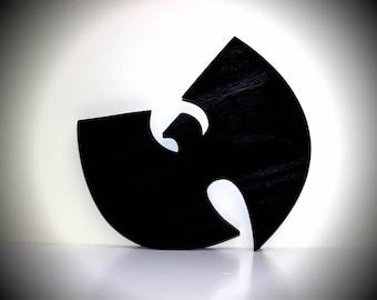WuTang logo wooden