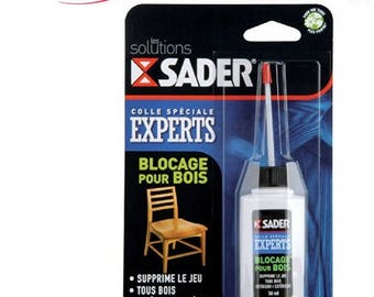 Sader CHAIR and JOINT REPAIR Glue 50ml Bostik Colle Universelle Loisir Créatifs