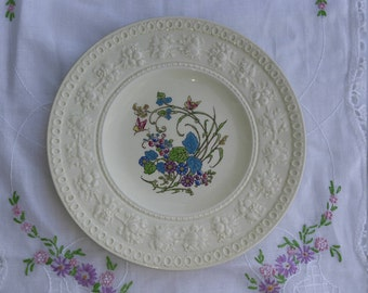 "Wedgwood Wellesley Montreal Pattern 7 1/2"" Side Plate, Bread Plate Dessert Plate, Cabinet Plate - 5 Available"