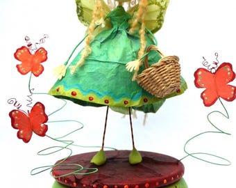 """Butterfly Fairy"" music box"