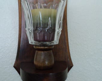 Beveled Glass Votive Candle Holders