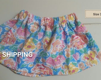 Bright floral size 3T
