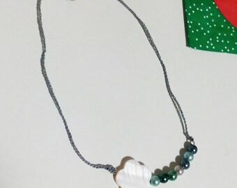 Comet Cloud fantasy Necklace blue sea/necklace