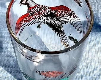 SPORTING BIRDS Beer/Bar GLASS