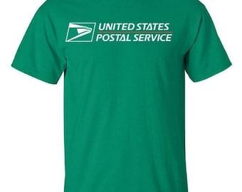 USPS Irish Green Short Sleeve Postal Shirt  - All sizes available!