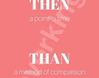 Grammar Print/Poster for Classroom for Teachers, Art, Back to School, Typography