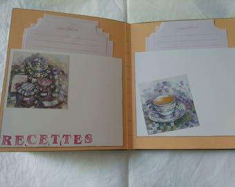 handmade sweet recipe book
