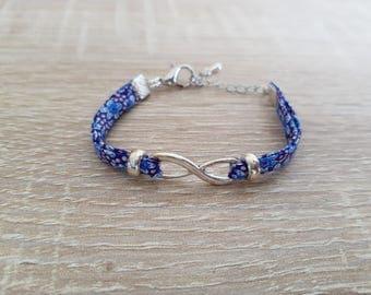 Liberty girl infinity bracelet