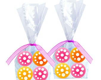 Fruit Creme Hard Candy Drops (Bags of Four) - 6 Bags