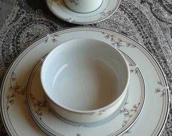 Princess House 20 Piece Porcelain Dinnerware Set